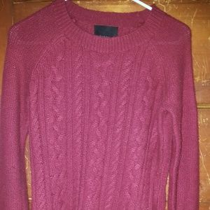 Cynthia Rowley S Burgundy Sweater